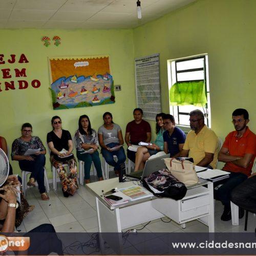 PADRE MARCOS | Em reunião, Comissão Intersetorialarticula ações para o Selo Unicef