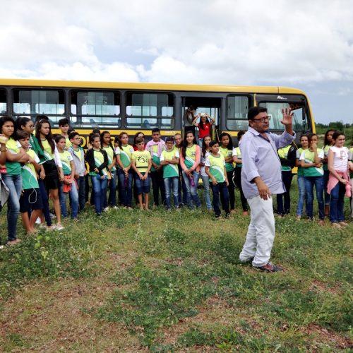 BELÉM | Alunos da escola Monte Sinai participam de aula campo nas barragens do Estreito e Caboclo