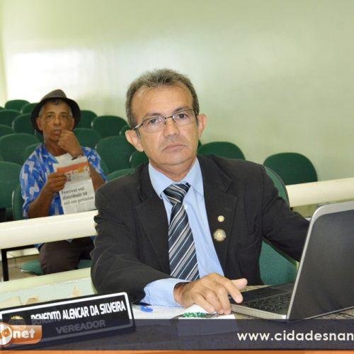 JAICÓS | Recuperação de estradas e perfuração de poço são solicitados pelo vereador Benedito Alencar