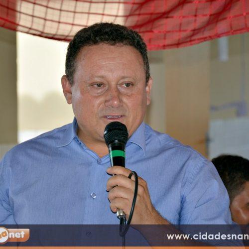 '553 agricultores de Vila Nova estão recebendo a 1ª parcela do Garantia Safra', afirma o prefeito Edilson Brito