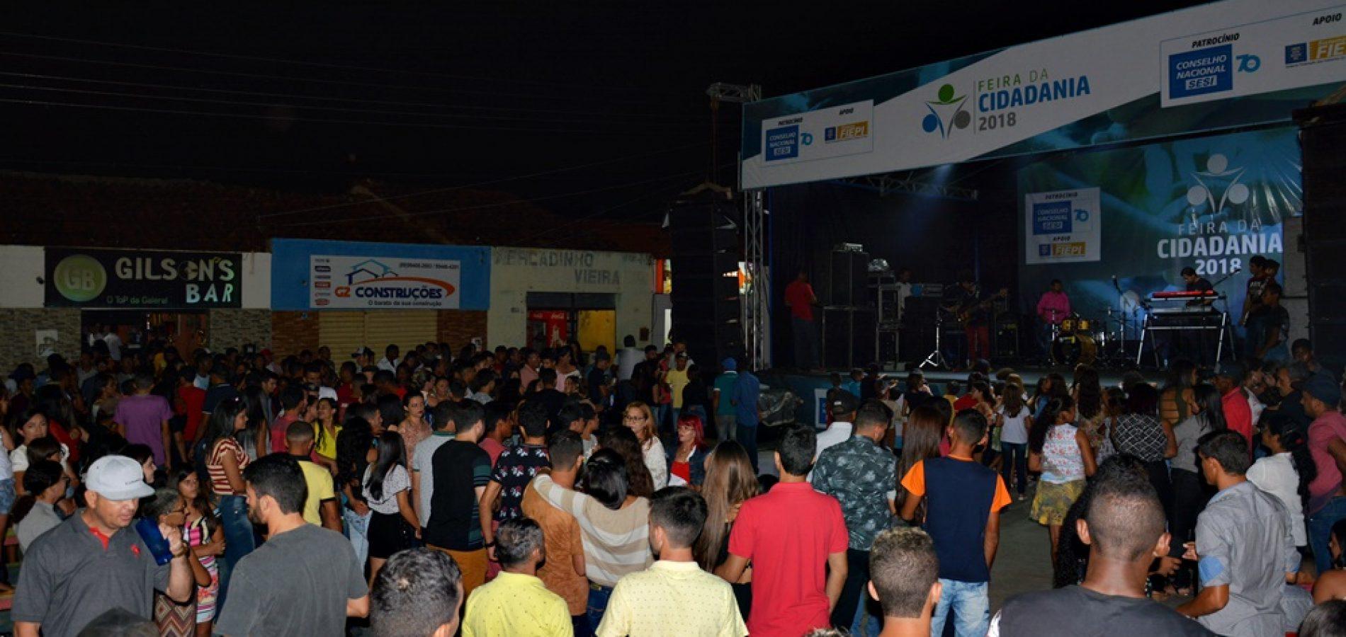 FOTOS |  Feira da Cidadania 2018 em Jacobina do Piauí