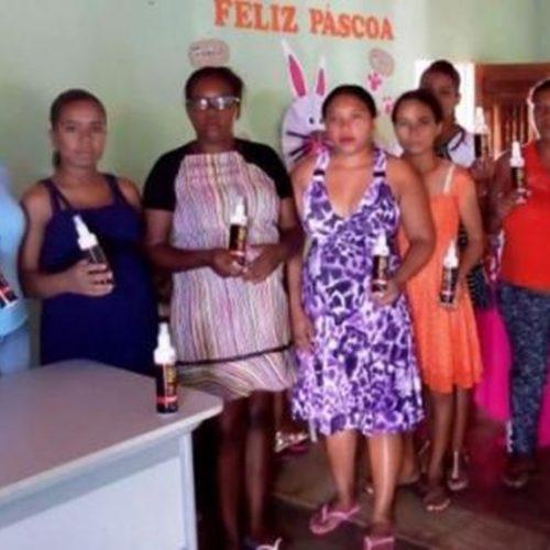 Secretaria de Saúde de Vera Mendes faz entrega de repelentes para gestantes