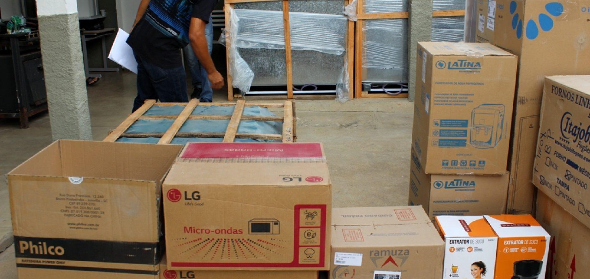 Prefeitura de Jaicós investe R$ 42 mil na aquisição de equipamentos para as escolas Padre David e Líria Alencar