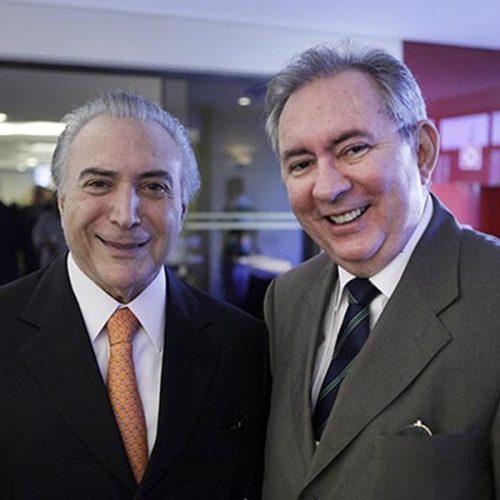 João Henrique coordenará campanha de Michel Temer em uma possível candidatura