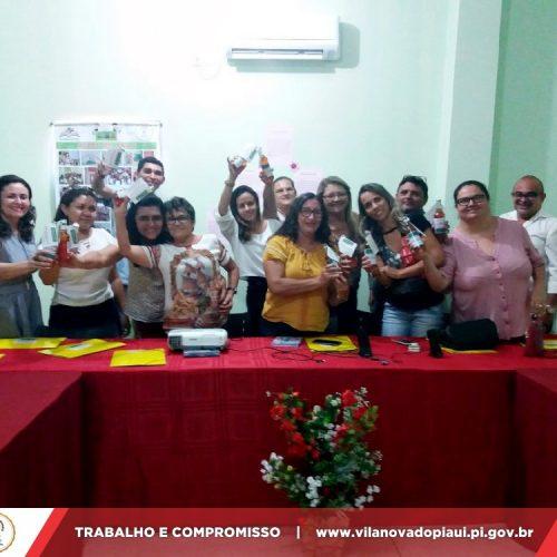 Vila Nova sedia formação do PNAIC para coordenadores municipais que integram a GRE de Fronteiras