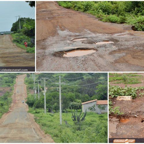 População sofre com o abandono da PI 245 que liga Picos a Itainópolis