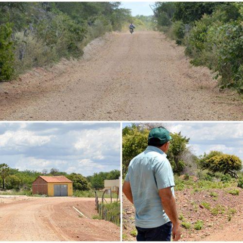 Prefeitura de Patos investe 975 mil na recuperação de estradas e leva mobilidade ao homem do campo
