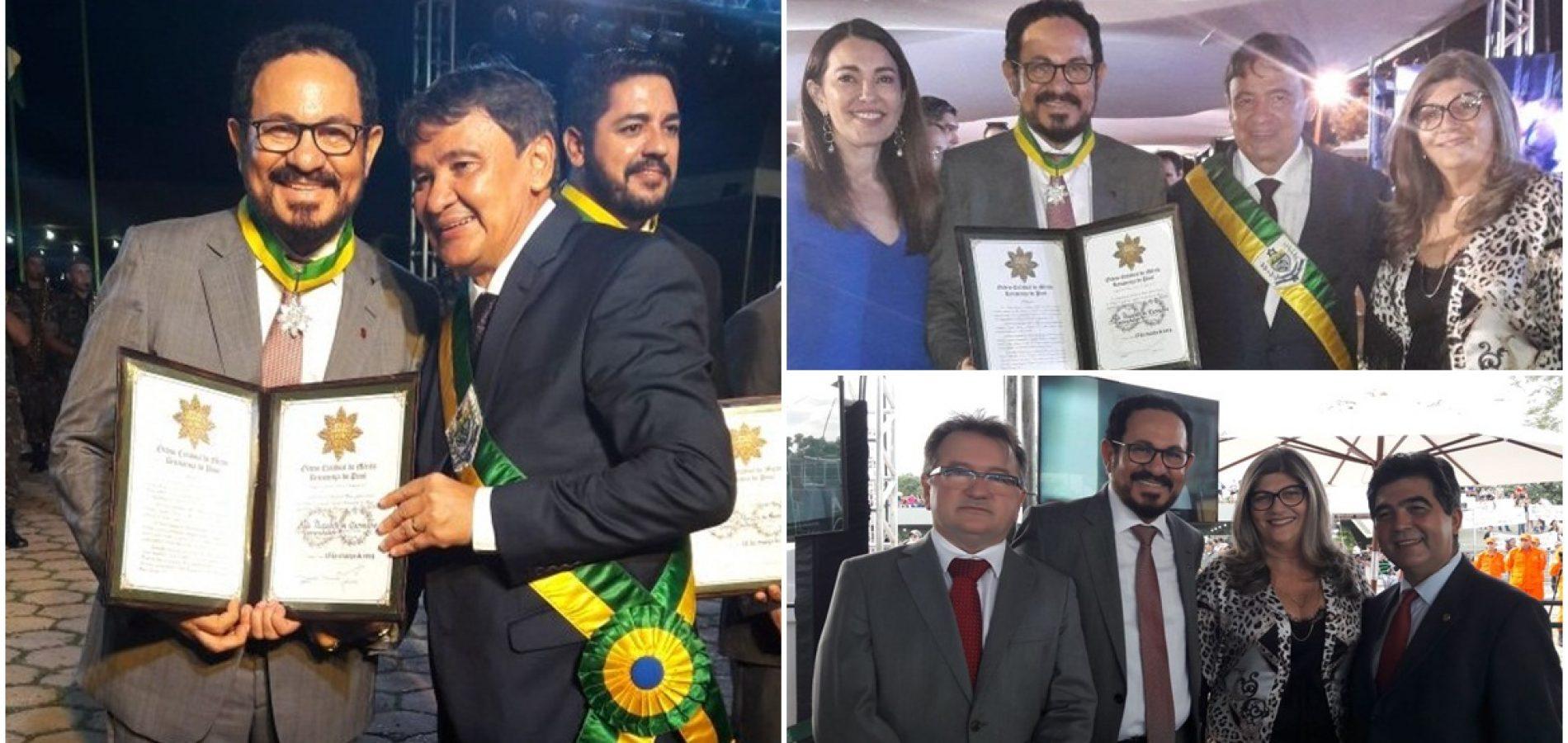GENTE EM EVIDÊNCIA | Advogado João Deusdete recebe a mais alta Comenda do Estado do Piauí