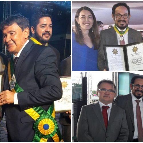 GENTE EM EVIDÊNCIA   Advogado João Deusdete recebe a mais alta Comenda do Estado do Piauí