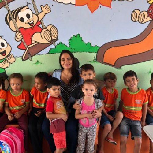 Prefeitura reforma creches em Patos do Piauí