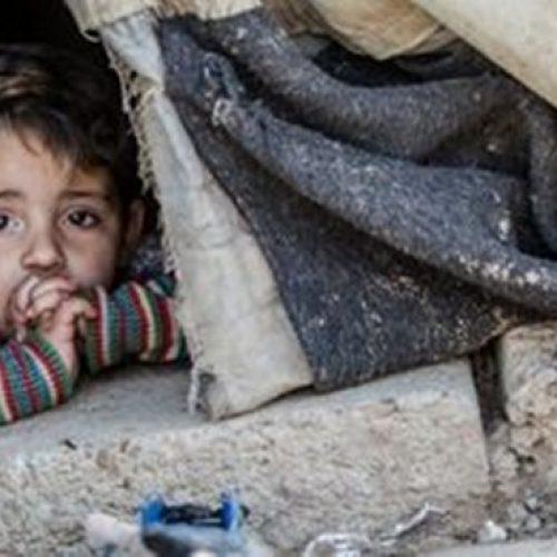 Guerra matou mais de mil crianças na Síria somente em 2018