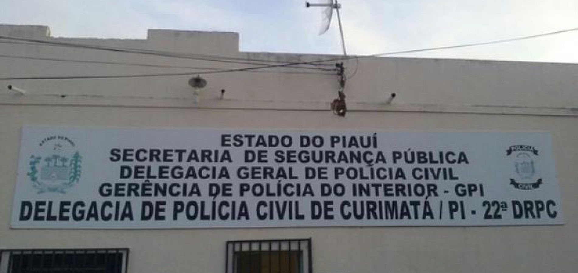 Bandidos desafiam a polícia e roubam Delegacia da Polícia Civil no interior do Piauí
