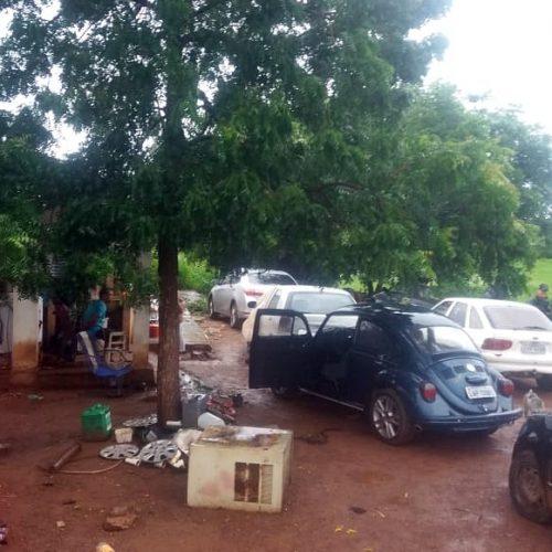 Polícia encontra desmanche de veículos em Sussuapara e uma pessoa é presa