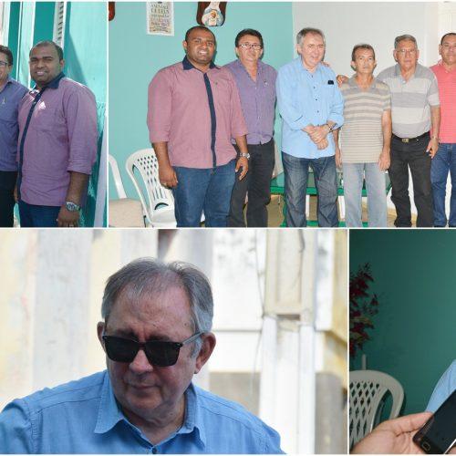 Em visita a Jaicós, ex-ministro João Henrique fala sobre Feira da Cidadania e Caravana Piauí em Movimento