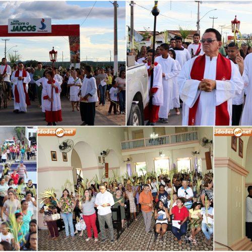 Comunidade Católica celebra o Domingo de Ramos em Jaicós; Veja fotos !
