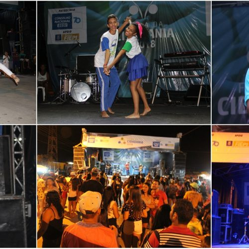 Apresentações culturais e show com Noel Nascimento marcam primeira noite da Feira da Cidadania em Jaicós