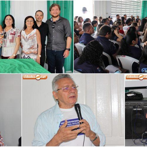 Em evento bastante prestigiado, Dr. Gildásio Guedes ministra palestra para alunos da UAB em Jaicós