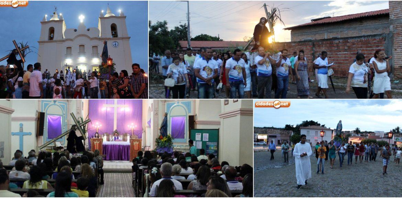 Procissão do Encontro reúne fiéis em preparação para a Semana Santa em Jaicós