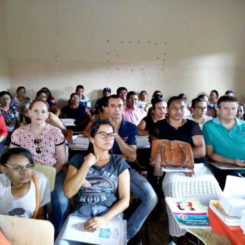 Jornada Pedagógica prepara professores para ano letivo em Patos do Piauí