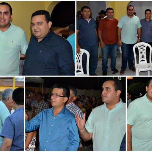 Deputado Georgiano Neto visita Caldeirão Grande e fala sobre sua parceria com o prefeito Vianney