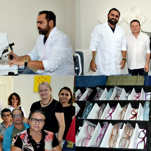 Em Vila Nova, Semana da Saúde Visual tem início e oferece consultas e armação de óculos gratuitos