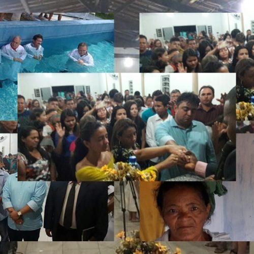 Igreja Assembleia de Deus Madureira realiza 1ª Confraternização Unificada de Jovens e Senhoras em Alegrete do PI