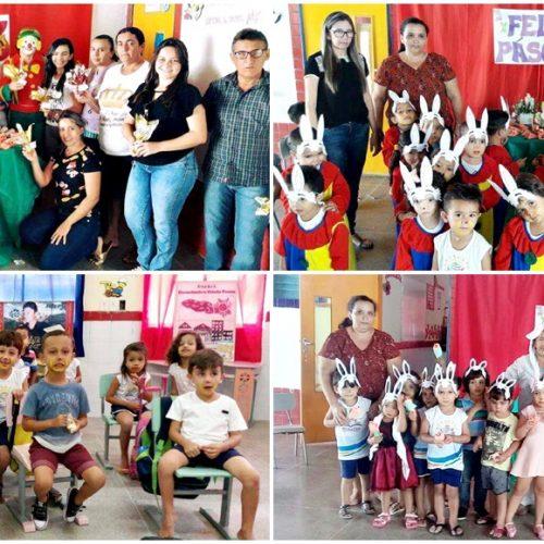 Creche Professor Osvaldo comemora a páscoa, dia do circo e da poesia; fotos