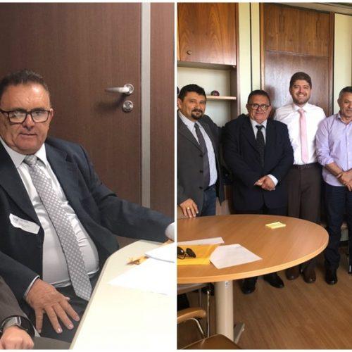 Em Brasília, prefeito Nonato tem encontro com deputado e senador e anuncia investimentos para Francisco Macedo