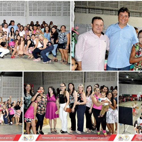 Prefeitura de Vila Nova do Piauí promove grande evento para comemorar o Dia da Mulher; fotos