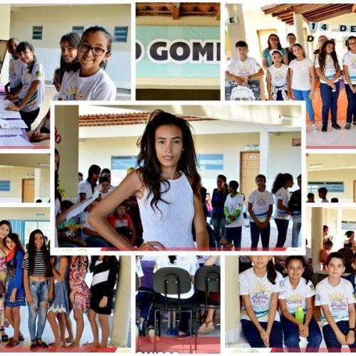 VILA NOVA | Unidade  Escolar Sabino Gomes de Lima realiza atividades alusivas ao dia da poesia; Veja fotos