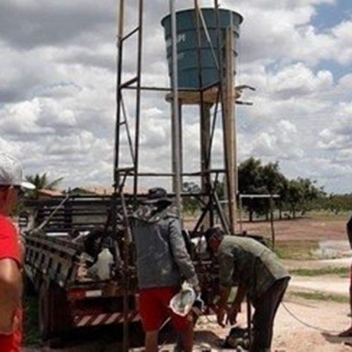 Governo do Estado perfura poços em Jaicós e mais 4 cidades do semiárido piauiense