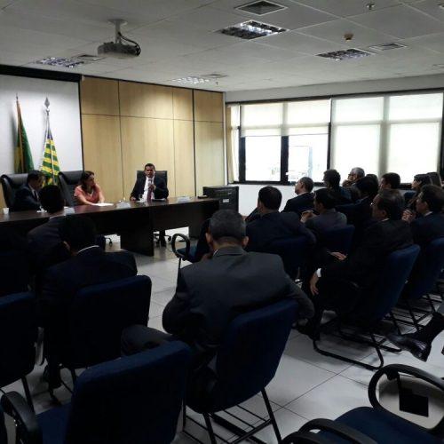 Juízes e Procuradores federais do Piauí fazem ato contra distorções salariais