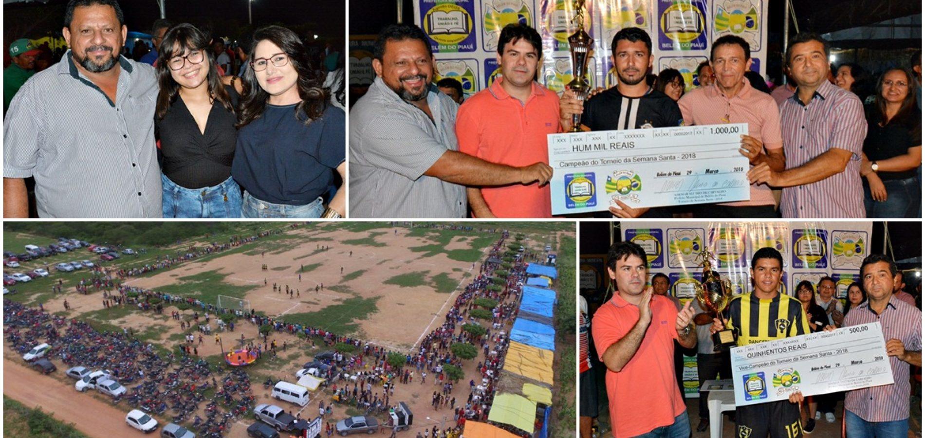 Torneio de Futebol movimenta o interior de Belém do Piauí; veja fotos
