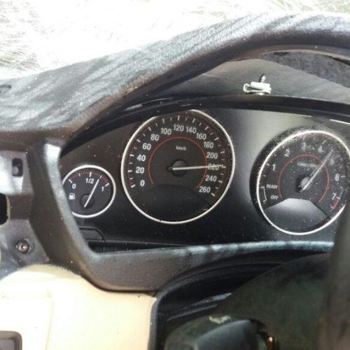 Velocímetro aponta carro de luxo a mais de 200km/h em acidente com dois mortos no PI; PRF investiga