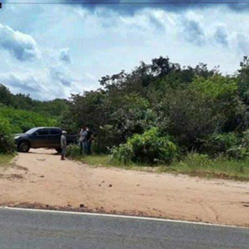 Polícia encontra corpo enterrado com a cabeça para baixo no Norte do Piauí