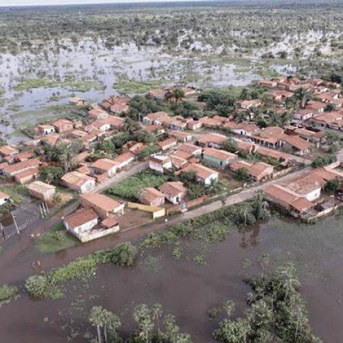 Piauí tem 1.200 desabrigados em oito municípios
