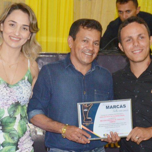 Marcas Vitoriosas premia empresas e profissionais em Campo Grande; Baiá é eleito melhor prefeito de todos os tempos
