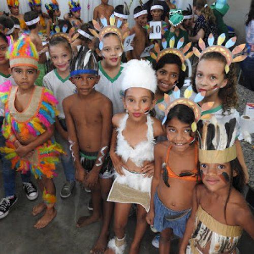 FRONTEIRAS   Escola Municipal  Nossa Senhora de Fátima celebra o Dia do Índio