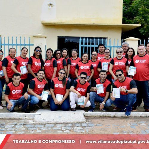 Secretaria de Saúde realiza Blitz Educativa de combate ao mosquito Aedes Aegypti em Vila Nova do Piauí