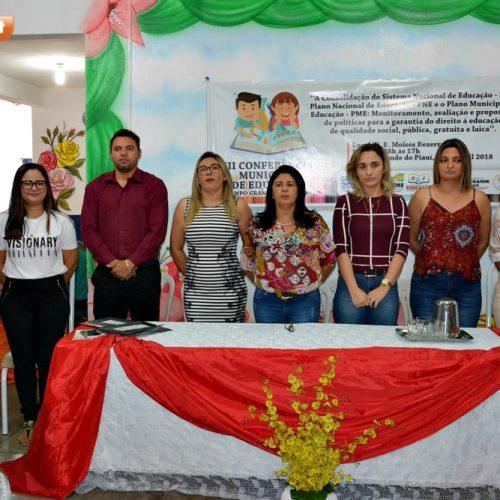 Campo Grande do Piauí realiza Conferência em busca de uma educação de qualidade