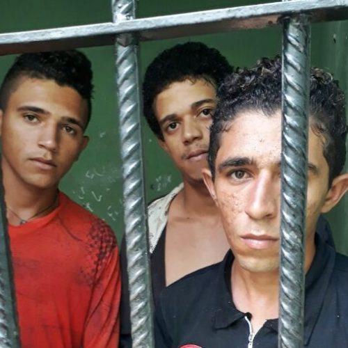 Trio é preso por furtar carneiro no interior de Campo Grande do Piauí