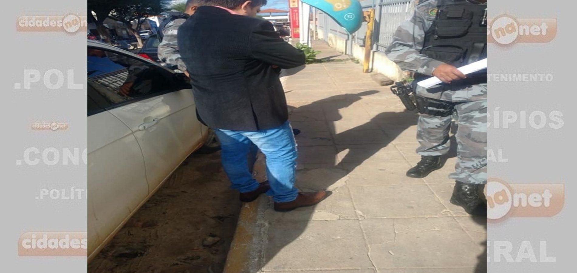 Força Tática de Paulistana prende homem com mandado de prisão em aberto