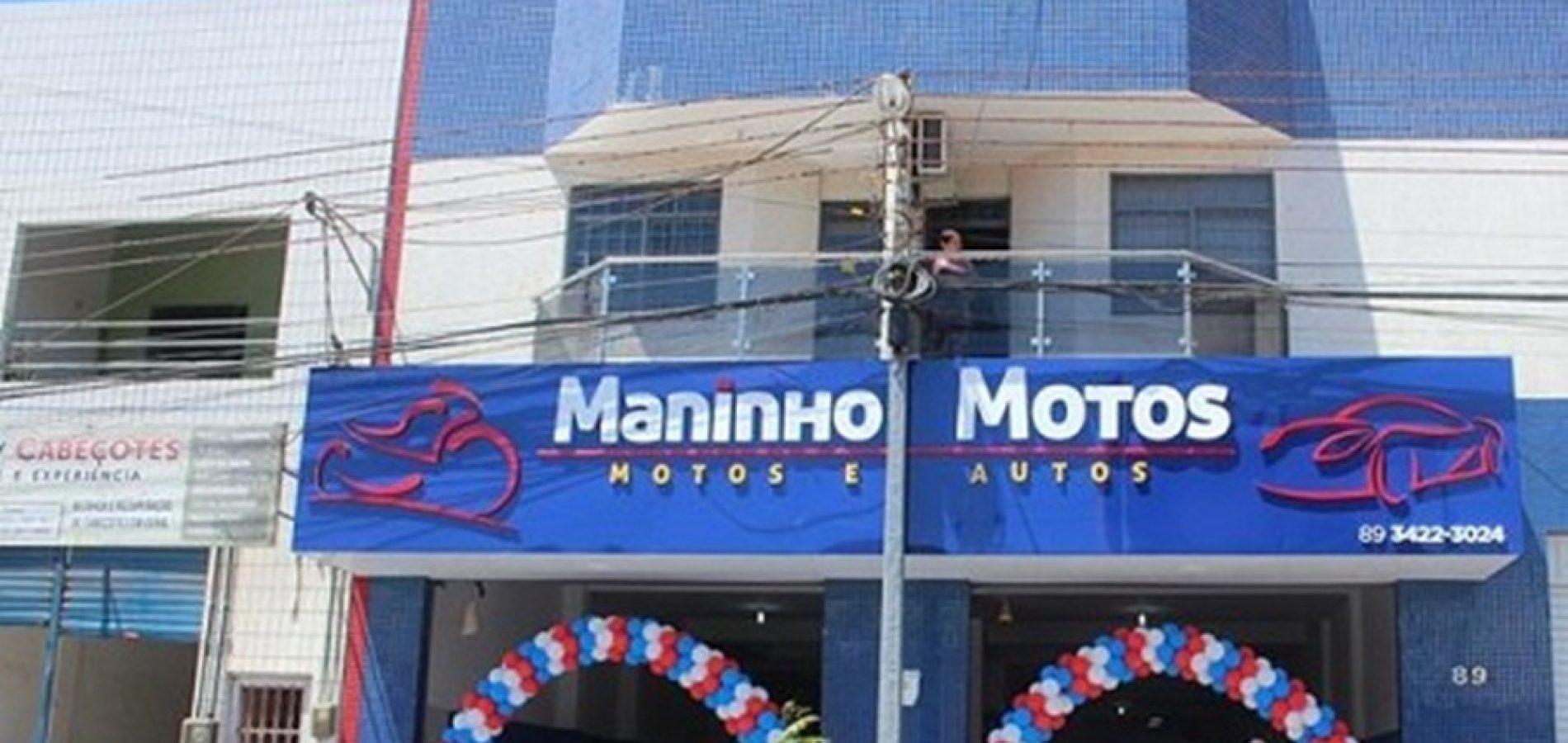 Polícia já tem suspeitos do roubo a loja de moto em Picos