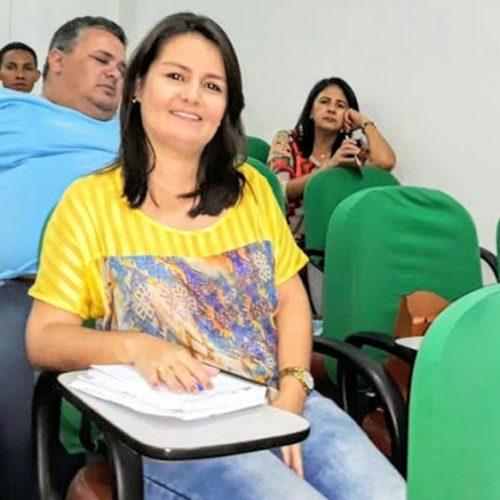 Secretária de Educação de Simões participa de evento sobre a BNCC em Teresina