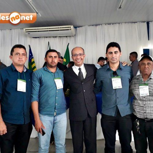 Vereadores de Vila Nova participam de Encontro Nacional do Legislativo em Floriano