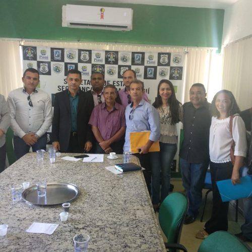 Em Teresina, representantes reivindicam melhorias na segurança pública para região de Jaicós; Secretário virá ao município