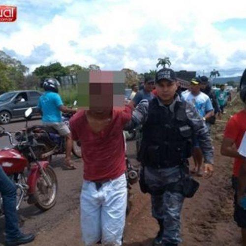 População desarma e imobiliza suspeito de assalto em Picos