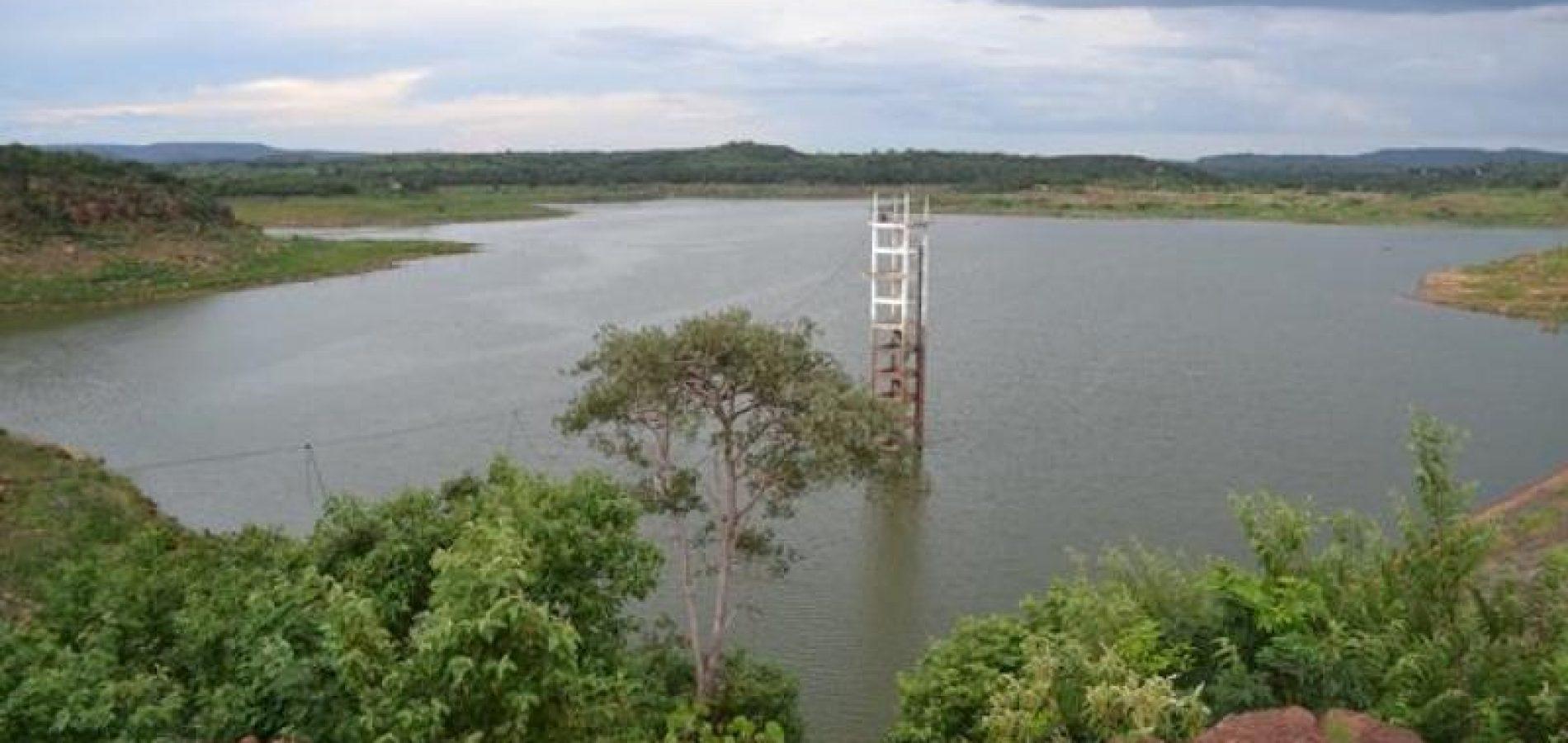 Barragem de Bocaina está com 22% de sua capacidade