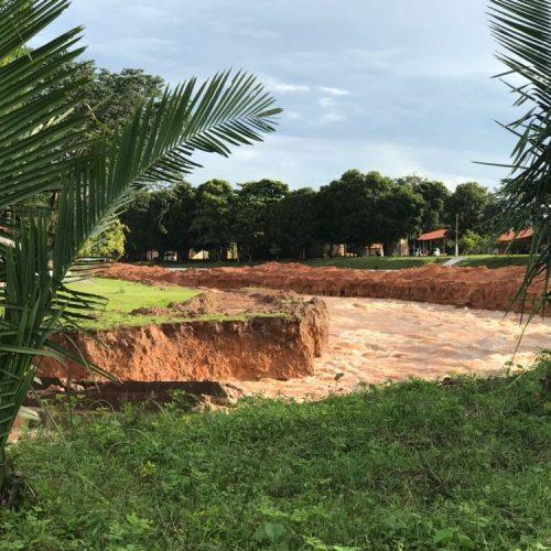 Defesa Civil afirma que nível da Barragem do Bezerro desce 40 cm em 24 horas