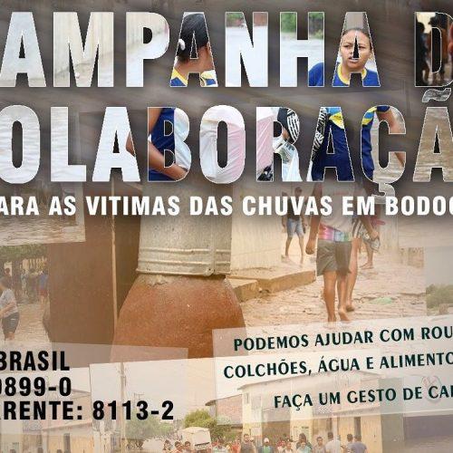 Em Jaicós e Padre Marcos, campanha arrecada donativos para famílias atingidas por enchentes no Pernambuco